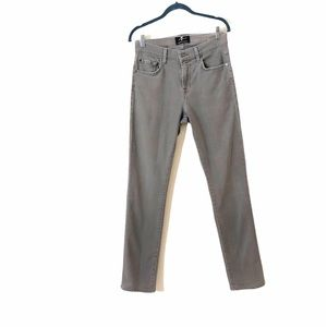 7 For All Mankind Slimmy gray jeans size 28